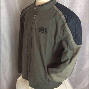 Armani Exchange Jackets & Coats - Armani Exchange Mens Moto Jacket size XXL